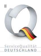 ServiceQualität Deutschland Stufe 2 Kreuzfahrten Agentur