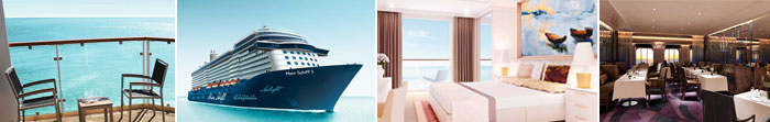 TUI Mein Schiff 3 Kreuzfahrten Bilder